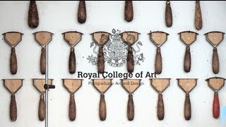 While the tension is building up at one of London's most prestigious art and design colleges, we follow up on the final year MA students at Royal College of Art to see how how far they've come to completing their collections. We watch how Tariq Mahmoud dip-dyes perspex to make unusual heels for his shoes with Lily Kamper, a student from the accessories design department and Hannah Morgan's collaboration with the Vehicle Design department. We also see how Raj Mahmoud creates a belt in the college's 3D scanning Rapidform lab and have a look at Benedicte Holmboe and Hiroaki Kanai's first finished pieces. www.rca.ac.uk