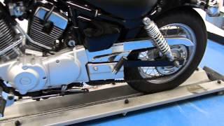 10. 2010 Yamaha XV250 Vstar 250 Black - used motorcycle for sale - Eden Prairie, MN