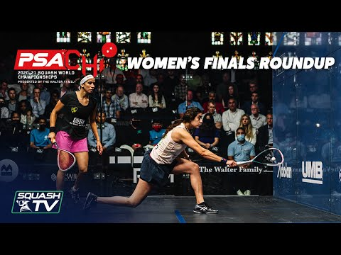 Squash: PSA World Championships 2020-21 - Women's Final Roundup