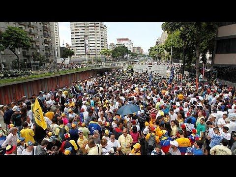 Νέα διαδήλωση κατά του Νικολάς Μαδούρο στο Καράκας