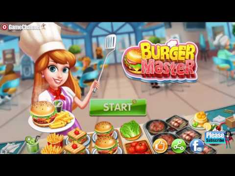 Burger Master, Classic Cooking Game, Videos Games For Kids - Girls - Baby Android Gameplay