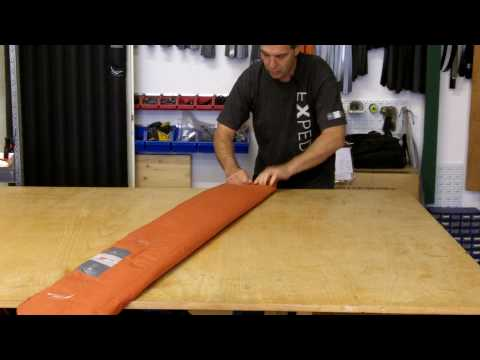 Deflating Exped Mats with Andy Brun