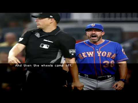 Mickey Callaway loses it as Mets fall to Braves  8-2