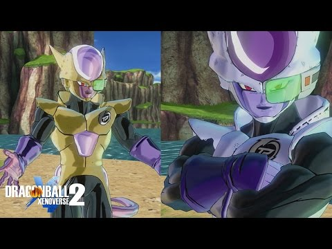 Golden CaC Transformation Gameplay! | Dragon Ball Xenoverse 2 Custom Frieza Race Patroller