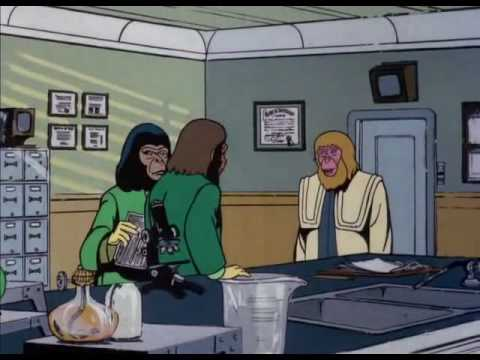 Return to the Planet of the Apes (Cartoon) 7