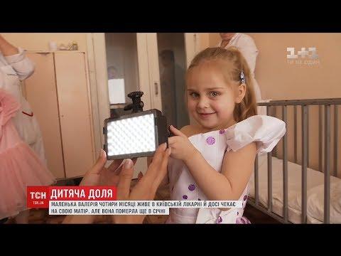 У столичній лікарні чотири місяці мешкає дівчинка без родини і документів
