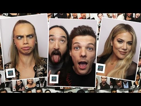 Year Two of The Late Late Show Photo Booth
