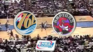 Philadelphia 76ers VS Toronto Raptors | 2001 Playoffs | Game 1