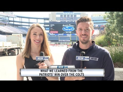 Video: NFL Week 6: What We Learned From Patriots' Win Over Colts