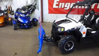 10. 2014 Polaris RZR 570 White Lightning