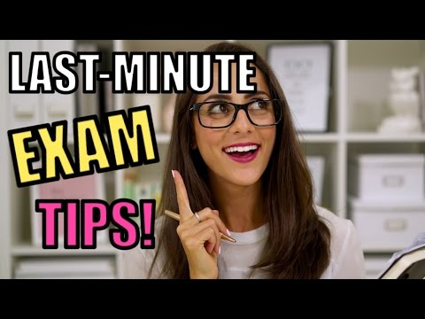 5 TIPS FOR HOW TO CRAM FOR EXAMS!