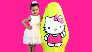 Video Hello Kitty KOCAMAN Dev Sürpriz Yumurta Açma ★ HUGE Giant Surprise Egg ★ Barbie Oyuncakları MP3, 3GP, MP4, WEBM, AVI, FLV November 2017
