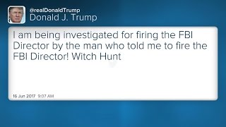 President Trump's attorney says the president is not under investigation, after a Trump tweet seemed to suggest the opposite.