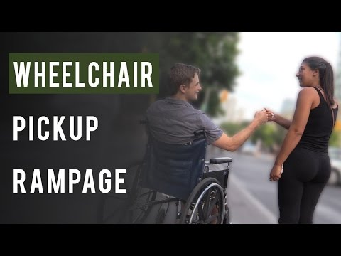Video Picking up Girls on Wheelchair download in MP3, 3GP, MP4, WEBM, AVI, FLV January 2017