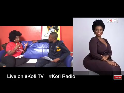 VICKY HAMMAH LIVE ON KOFI TV, ACCUSES MAN OF DRUGGING HER