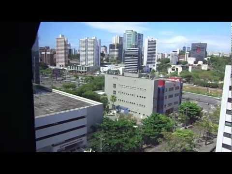 Vista da região do Shopping Iguatemi em Salvador BA.