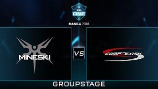 Mineski.Sports5 vs Complexity - Game 3 - ESL One Manila Group Stage - Philippine Coverage