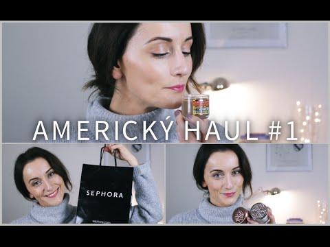 Americký HAUL #1/Kozmetika   TinaNaté