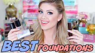 "Thank you all for watching my best foundations for sensitive and acne prone skin. I always get so many questions about which foundations are best for sensitive and acne prone skin so I wanted to compile my favorite ones for you. Let me know if you want to see one for powder foundations or any other products such as cleansers, primers, moisturizer and etc. Comment down below your favorite liquid foundations!FTC DISCLAIMER: Always full disclosure here! This video is not sponsored. All opinions expressed are my own and not edited by any companies mentioned. Some links are affiliate links.------------------------------------↓ ALL PRODUCTS LISTED DOWN BELOW ↓→ MY VLOG CHANNEL  http://bit.ly/1TxBSRl→ CHECK OUT MY BLOG WEBSITE  http://madisonmillerblogs.com→ TWITTER  INSTAGRAM  SNAPCHAT  TUMBLR  PINTEREST  madison89miller------------------------------------UPS Mailbox:10531 4s Commons DR. #222San Diego, CA 92127Business Inquiries Only: madisonbusiness@ipsy.com------------------------------------ ♡ BEST LIQUID FOUNDATIONS ♡→ KOH GEN DO: http://bit.ly/2oG12Wp → MAKE UP FOR EVER MAT VELVET +: http://bit.ly/2rCe1tD → TOO FACED BORN THIS WAY: http://bit.ly/2tmVkLd → HOURGLASS IMMACULATE: http://bit.ly/2tmLyZN → HOURGLASS VANISH STICK: http://bit.ly/2pNKs4w → LANCOME TEINT IDOLE: http://bit.ly/2qD2PcC ------------------------------------ ♡ MAKEUP BRUSHES COUPON CODES ♡→ LUXIE BRUSH 20% OFF ""MADISON20"" http://bit.ly/1GR2NDV → SIGMA 10% OFF ""MADISON"": http://bit.ly/1WH5v21 → SLMISSGLAM 40% OFF ""MadisonM"" ALL BRUSH BOOKS http://bit.ly/1L9Tkdl → SLMISSGLAM 30% OFF ALL GLAM SETS ""MadisonMiller http://bit.ly/1L9Tkdl  ------------------------------------♡ COUPON CODES ♡→ Save 25% off using code MADISON25: www.beaugachis.com→ EBATES GET CASH BACK: http://bit.ly/1V31neY → FACETORY USE CODE ""MADISON20"" FOR 20% OFF https://www.facetory.com → BECAUSE OF CASE PHONE CASES USE CODE ""MADISONMILLER10"" FOR 10% OFF http://bit.ly/2hM10rY → LOVING TAN USE CODE ""MADISON"" FOR A FREE TANNING MITT: http://bit.ly/26ihLwt → SPONGELLE (BEST BODY BUFFERS!) USE CODE ""MADISON20"" FOR 20% OFF: http://spongelle.com→ OFRA COSMETICS (30% OFF USE CODE ""MADISON30""): http://bit.ly/218VA6P→ SUBSCRIBE TO BOXYCHARM: http://mbsy.co/dpqQz → BELFIORE EYESHADOWS (20% OFF ""MADISON""): http://bit.ly/1LERcoM→ THE ORIGINAL BEAUTYBOX (15% OFF ""LOVEMADISON15""): http://bit.ly/1QwHiXC→ 40% OFF GLAM BRUSH BOOK (USE CODE ""MadisonM""): http://bit.ly/1L9Tkdl→ ROCKSBOX (USE CODE ""madison89millerxoxo"" FOR 1 FREE MONTH): http://bit.ly/1zlI9nQ→ EMILE CORDON LIP POTS (AMAZING!): http://bit.ly/2mXyCmO"