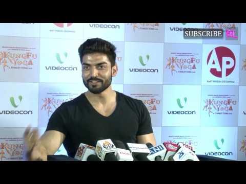 Gurmeet Choudhary at premiere of film Kung Fu Yoga