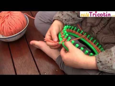 comment tricoter avec un tricotin rond