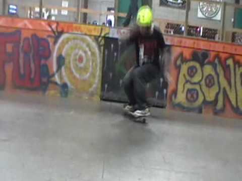 RJ Pratt tre Flips the Soul Ride Skatepark ledge