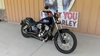 1. 2012 Harley-Davidson Softail Blackline FXS W/ Vance & Hines Big Radius  For Sale Tampa Florida USA
