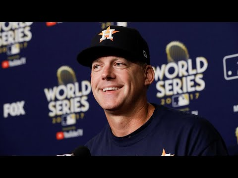 Video: A.J. Hinch has kept Astros calm in World Series