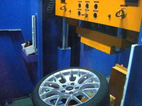Проверка прочности диска WSP Italy W675 BASEL M на удар спицы (BMW)
