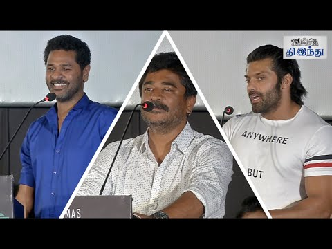 I-was-shocked-to-see-myself-on-screen-Raju-Sundaram-Yaanum-Theeyavan-Audio-Launch