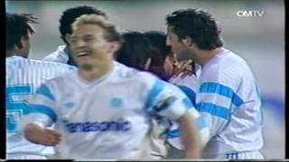 Jean Tiganas Treffer gegen Lech Posen (1990)