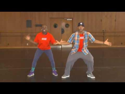 Уличные танцы: вариации движений. Обучающее видео.