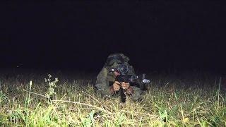 На российской авиабазе Кант отразили ночное нападение условных террористов