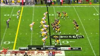 Brandon Scherff vs LSU (2014)