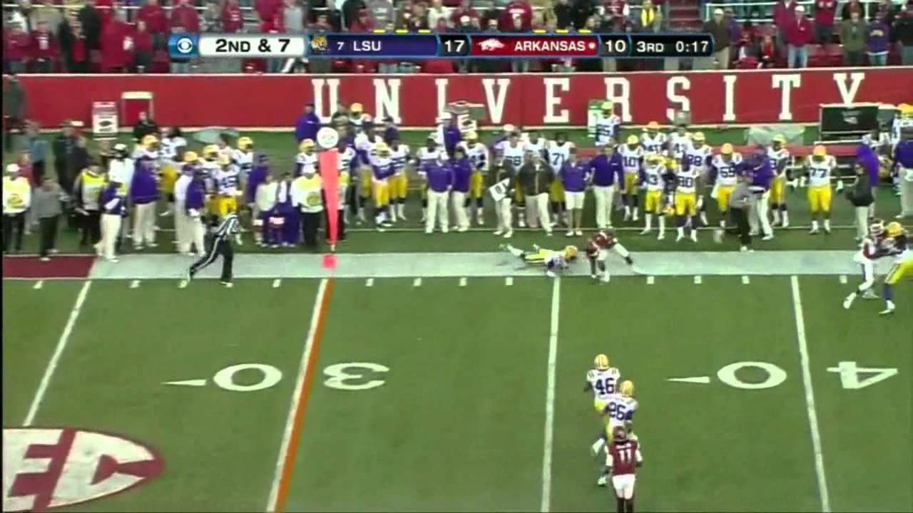 Tyler Wilson vs LSU (2012)