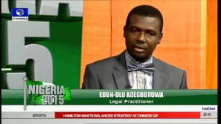 Nigeria 2015: Focus On Ways To Avoid Electoral Violence Pt. 2