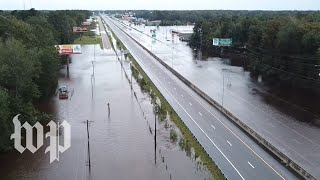 Video '200-year flood:' The Carolinas after Hurricane Florence MP3, 3GP, MP4, WEBM, AVI, FLV Oktober 2018
