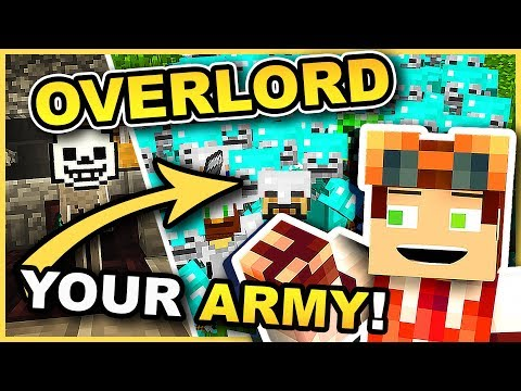 Command an UNSTOPPABLE Army!! •  Overlord Mod • Minecraft Mod Showcase