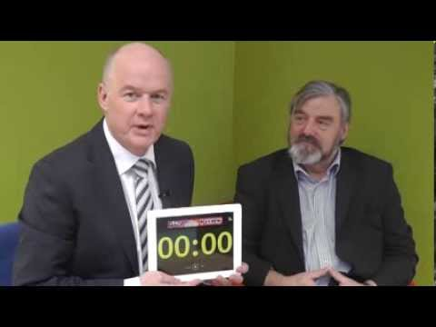 Norman Apsley, CEO at NI Science Park takes the 60 Second Challenge