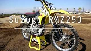 9. Motocross Action's First Ride on the 2014 Suzuki RMZ250