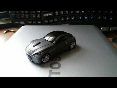 Infiniti Essence 2.4G wireless USB car mouse