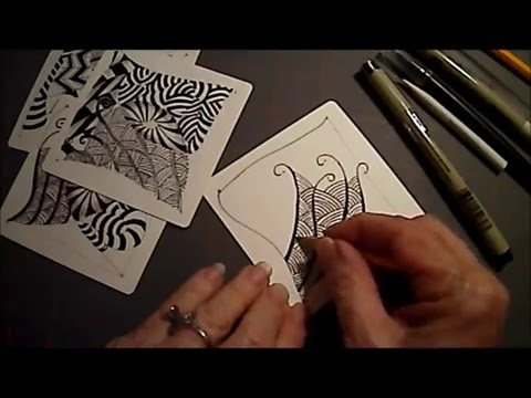 Draw Zentangle® Pattern Shattuck with Melinda Barlow, CZT