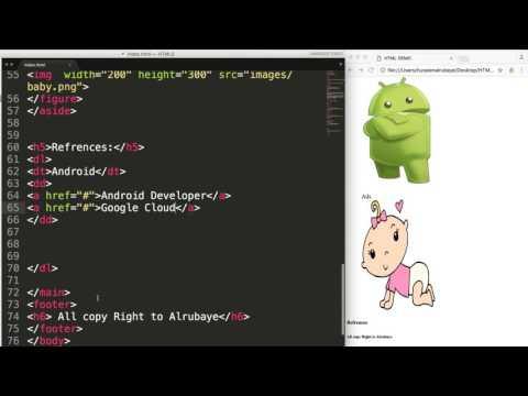 6- HTML5 || Lists