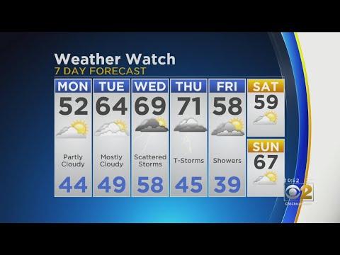 CBS 2 Weather Watch 10 P.M. 4-14-19