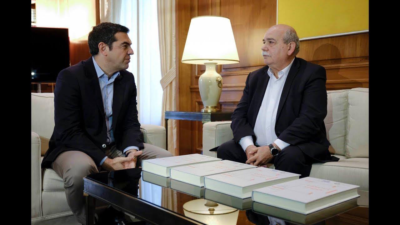 Συνάντηση με τον ΠτΒ Νίκο Βούτση για τον Φάκελο της Κύπρου