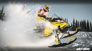 9. The 2019 Ski-Doo MXZ Snowmobiles