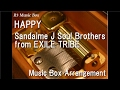 HAPPY/Sandaime J Soul Brothers from EXILE TRIBE [Music Box]