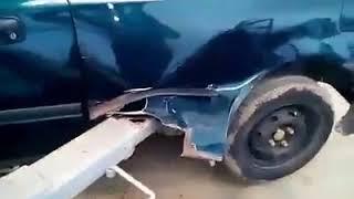 Honda nie wytrzymała wizyty u mechanika. To są dopiero przegnite progi