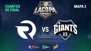 Origen España VS Giants Only The Brave - Copa El Corte Inglés - Cuartos de Final - Mapa 2