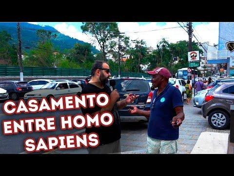O que acha do casamento entre Homo Sapiens? - Apanhados/Pegadinhas